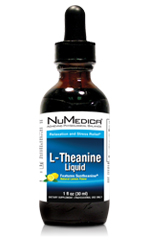 L-Theanine Liquid (2 oz) (Natural Lemon)
