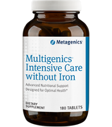 Multigenics Intensive Care without Iron (180T)