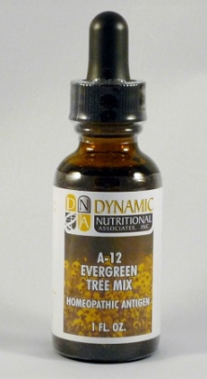 A-12 Evergreen Tree Mix Homeopathic Antigen (1 fl oz)