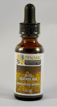 A-13 Feather Mix Homeopathic Antigen (1 fl oz)