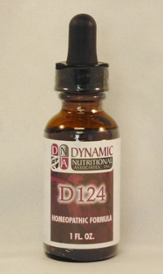 D124 Homeopathic Formula Cell Salt Ferr Phos (1oz)