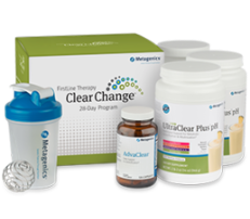 Clear Change 28 Day Program with UltraClear Plus pH Pineapple Banana Flavor