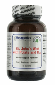 St. John's Wort with Folate and B12 (60T)