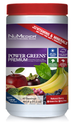 Power Greens Premium Berry Large (42 Svgs)