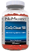 CoQ-Clear 50 Ubiquinone (Citrus) (Large) 120 Softgels
